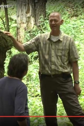 Mihai Zotta în documentarul Wild Carpathia. Sursa: screenshot