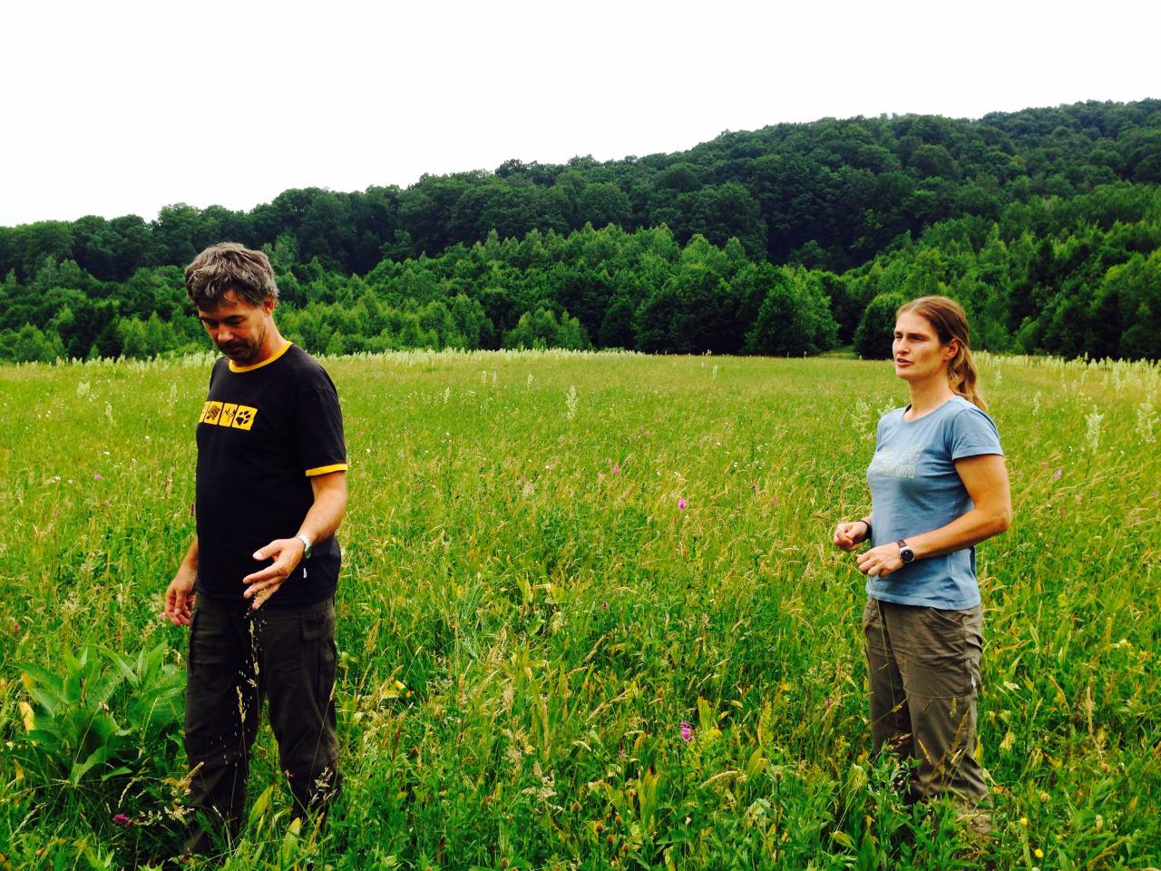 Christoph Promberger si soția lui Barbara sunt de peste 20 de ani în România. Sursa imaginii: http://davinellicson.tumblr.com/